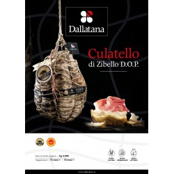 CULATELLO di ZIBELLO DOP 14 - 16 mesi